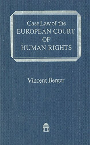 Case Law of the European Court of Human Rights